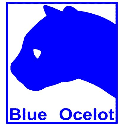 Logotipo Blue Ocelot Games