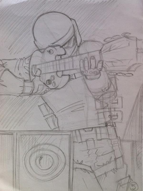 """Boceto para el videojuego """"Time Attack Puzzle"""""""