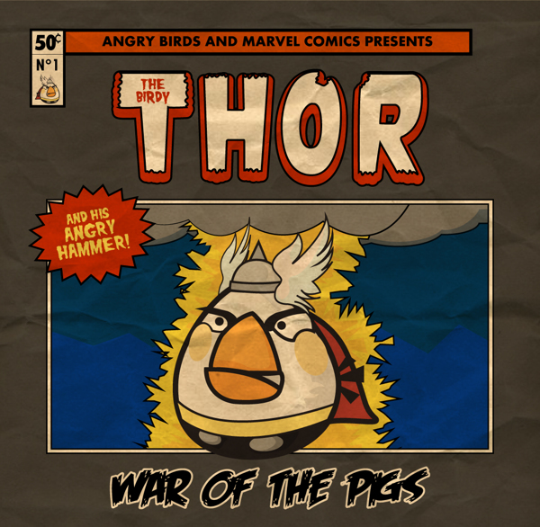 ANGRY BIRDS - THE BIRDY THOR
