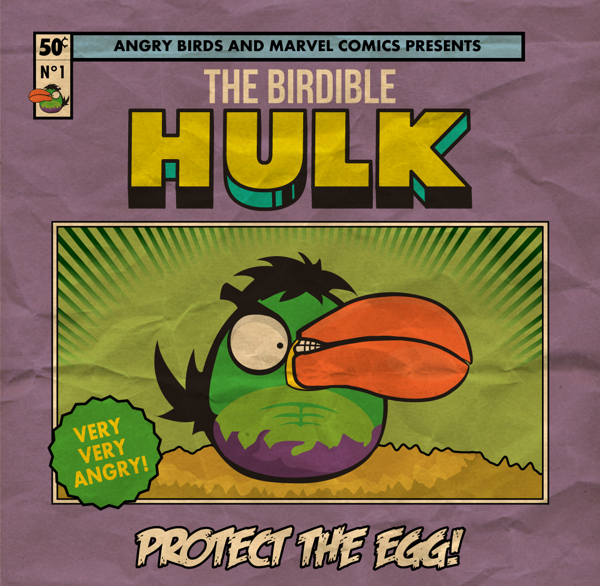 ANGRY BIRDS -  THE BIRDIBLE HULK