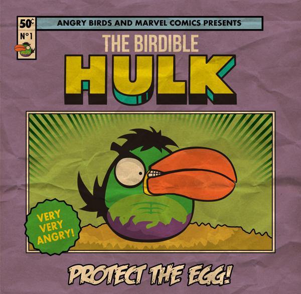 ANGRY BIRDS -  THE BIRDIBLE HULK