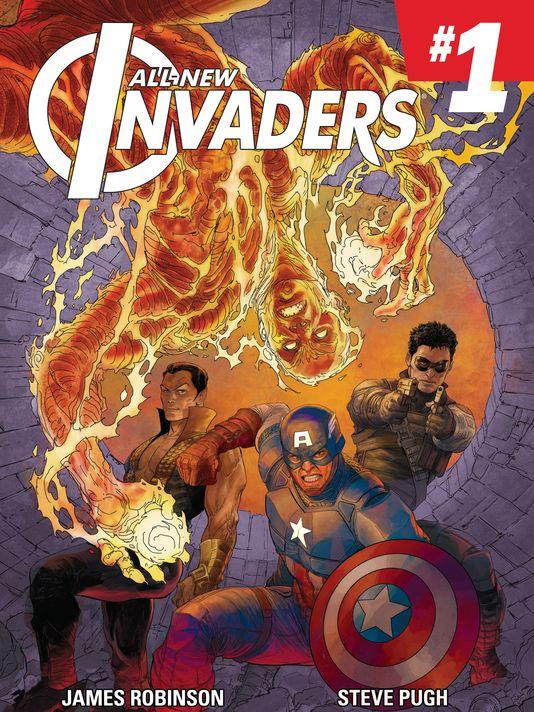 Portada de All-New Invaders