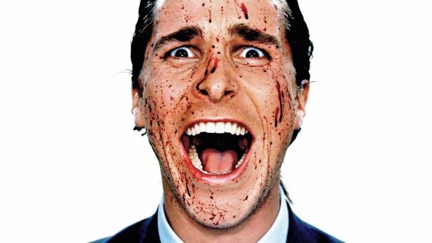 Christian Bale como Patrick Bateman
