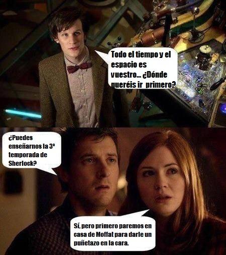Amy-y-Rory-quieren-ver-la-tercera-temporada-de-Sherlock