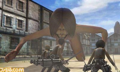 4 Ataque a los Titanes Nintendo 3DS