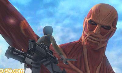 6 Ataque a los Titanes Nintendo 3DS