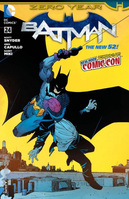 Batman-scott-snyder-greg-capullo-zero-year-comic-dc-traje-nuevo-purpura-antiguo-uniforme-purpura-azul-24-portada-alternativa