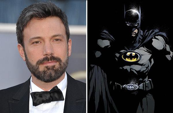 Ben Affleck Batman Man Steel