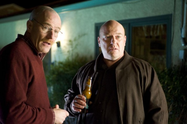 Walter y Hank de Breaking Bad