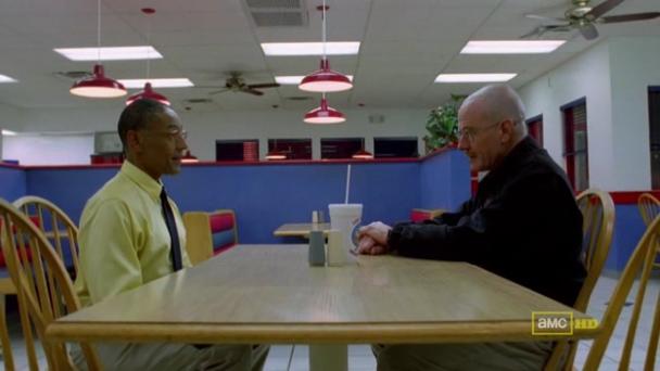 Walter y Gus de Breaking Bad