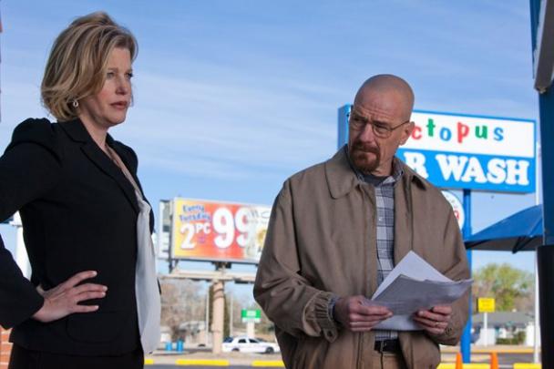 Walter y Skyler de Breaking Bad