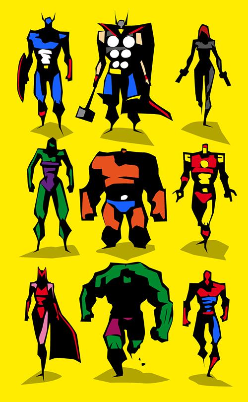 The Avengers by BUNKA