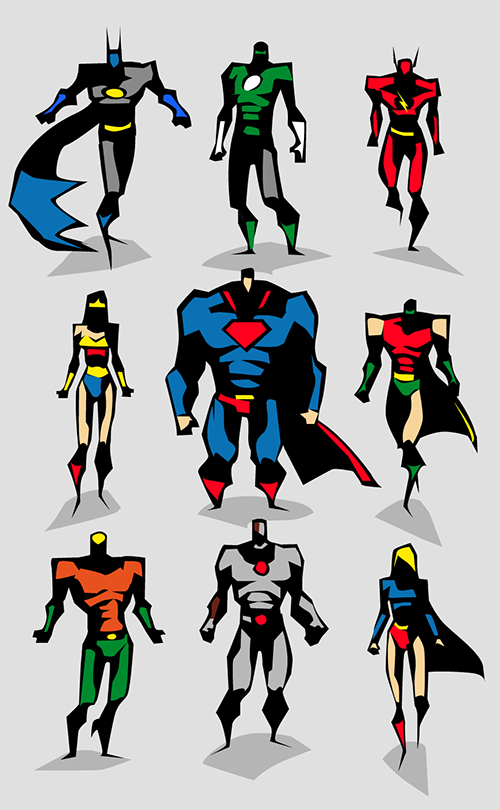 Justice League by BUNKA