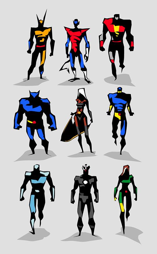 X-Men by BUNKA