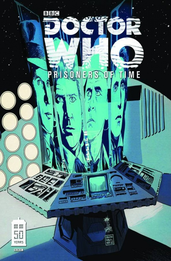 Portada de Doctor Who Prisioners of time