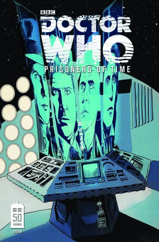 Portada de Doctor Who Prisioners of time