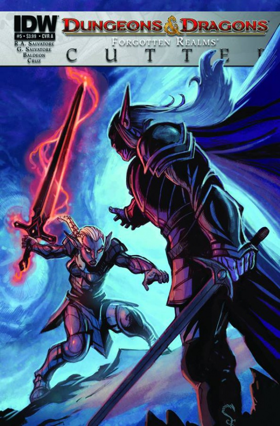 Portada de Dungeons and Dragons The Cutter