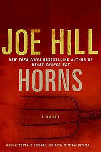 Portada del libro Horns de Joe Hill
