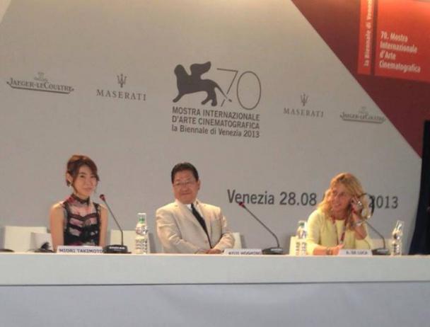 Hoshino Koji anunciando el retiro de Hayao Miyazaki