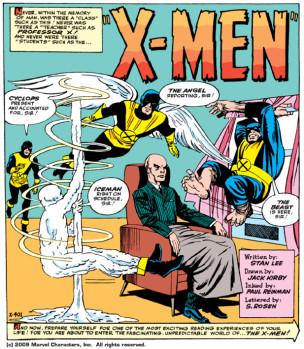 La Patrulla-X original, dibujada por Jack Kirby