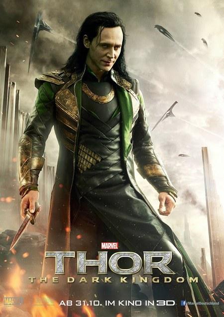 Loki Póster Thor El Mundo Oscuro