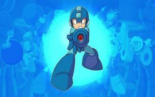 Poster de la primera entrega de Mega Man