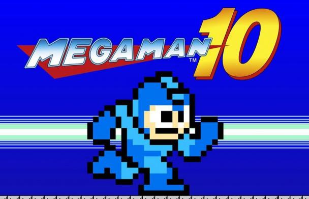 Mega Man10 Logo