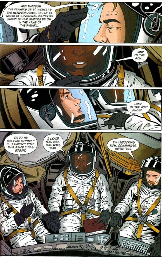 Página de Y, el último hombre #3