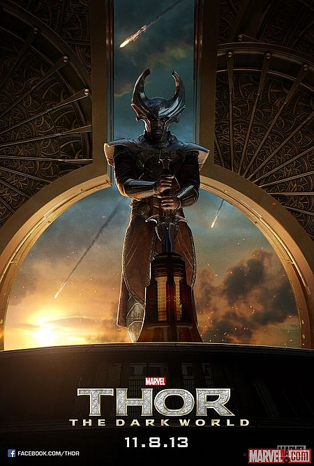 Póster Loki Thor El Mundo Oscuro