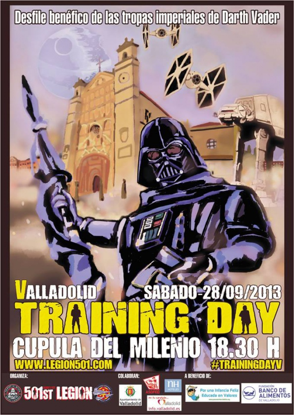 Póster V Training Day