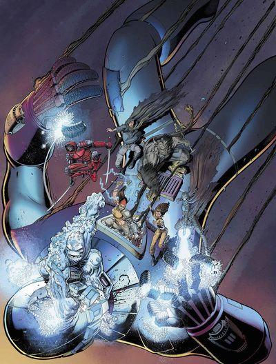 Portada de All New X-Men #16
