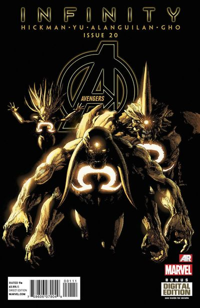 Portada de Avengers #20