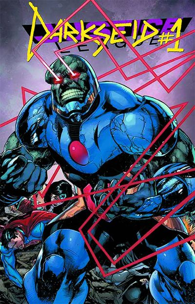 Portada de Justice League #23.1 Darkseid