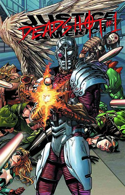 Portada de Justice League Of America #7.1 Deadshot