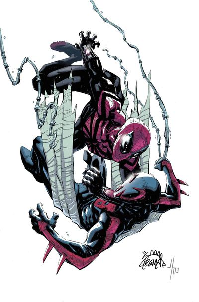Portada de Superior Spider-Man #18