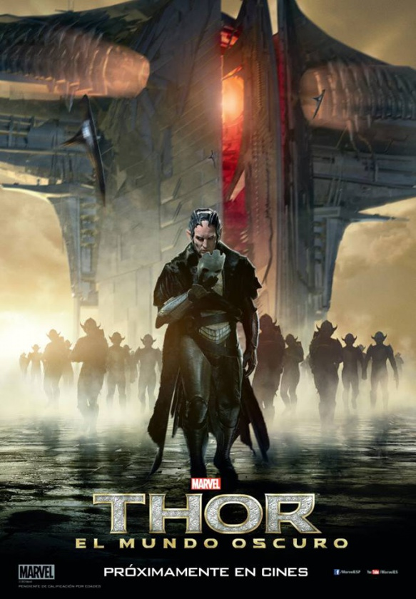 Poster Thor El Mundo Oscuro Malekith
