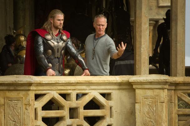 Imagen del rodaje de Thor: El mundo oscuro