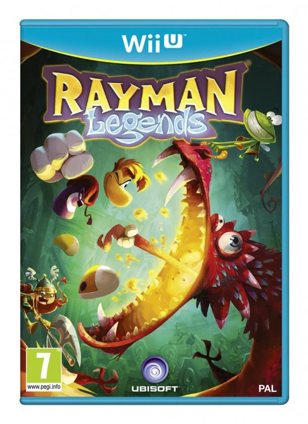 Rayman Legends, Portada Wii U