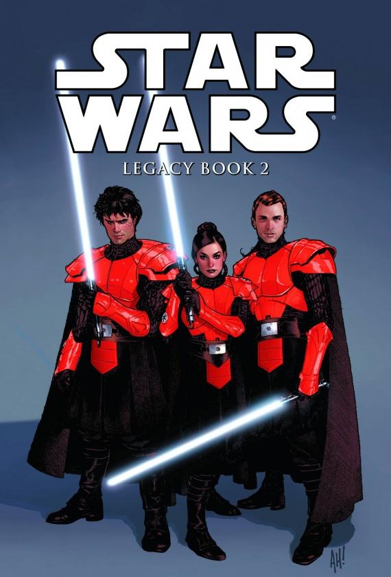 Portada de Star Wars Legacy