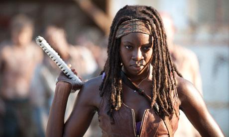 Michonne de The Walking Dead