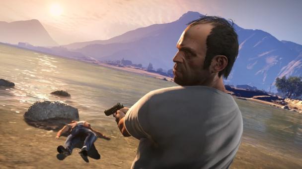 Trevor, uno de los protagonistas de GTA V