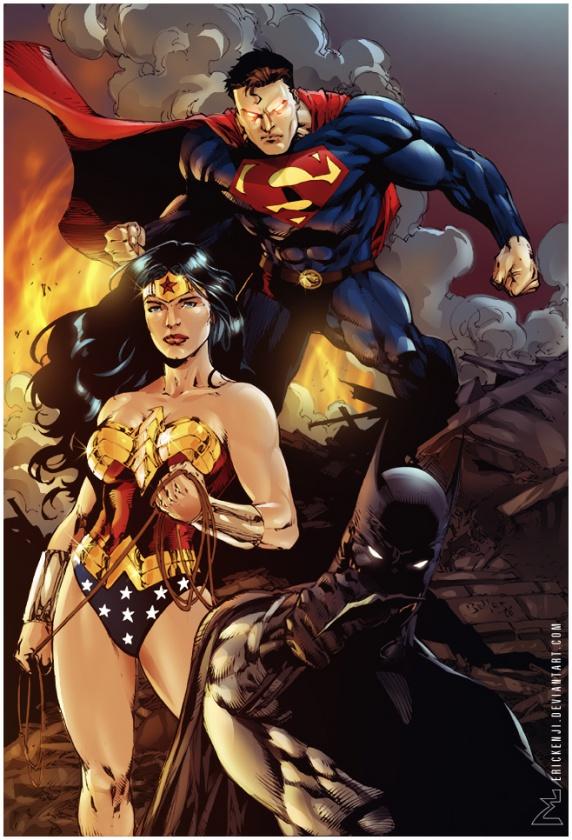 Wonder Woman Batman Superman