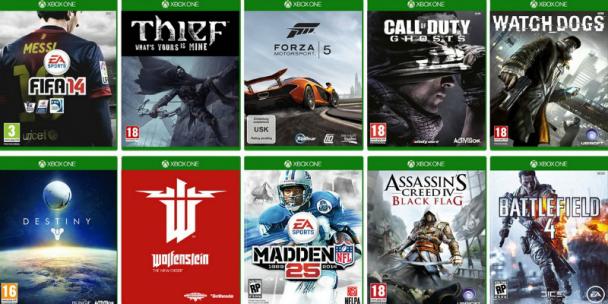 Catalogo De Juegos De Xbox One