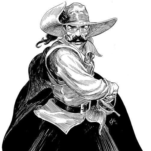Diego Alatriste ilustrado por Joan Mundet