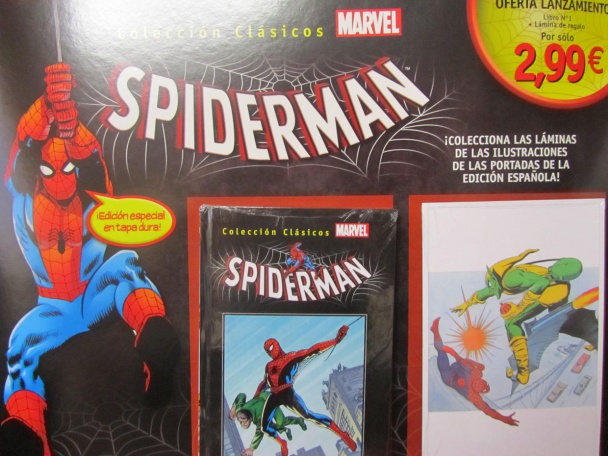 coleccionable spiderman 1