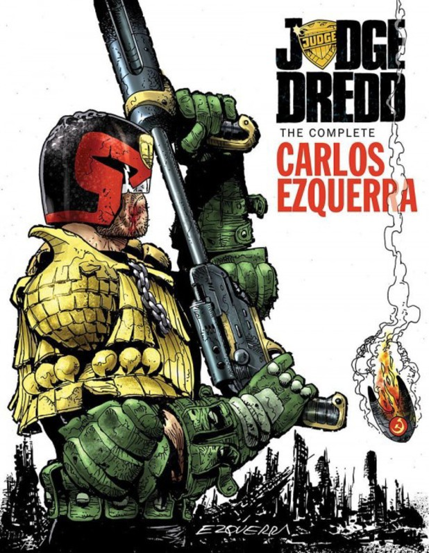 comics-judge-dredd-the-complete-carlos-ezquerra-volume-2
