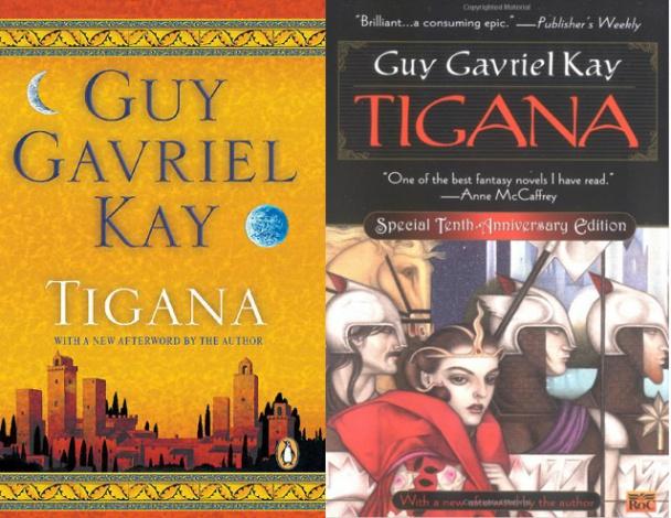Tigana portadas inglés Guy Gavriel Kay