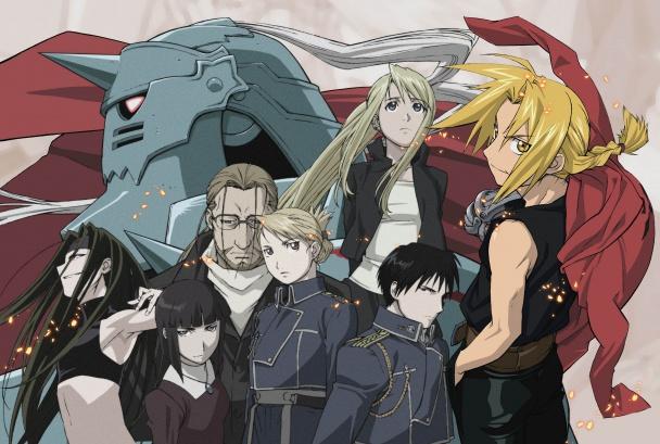 Una imagen del anime con los personajes