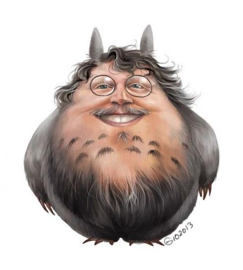El director favorito de los frikis, Guillermo del Totoro