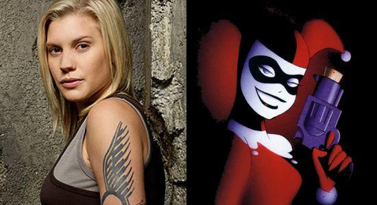 Katee Sackhoff-Harley Quinn